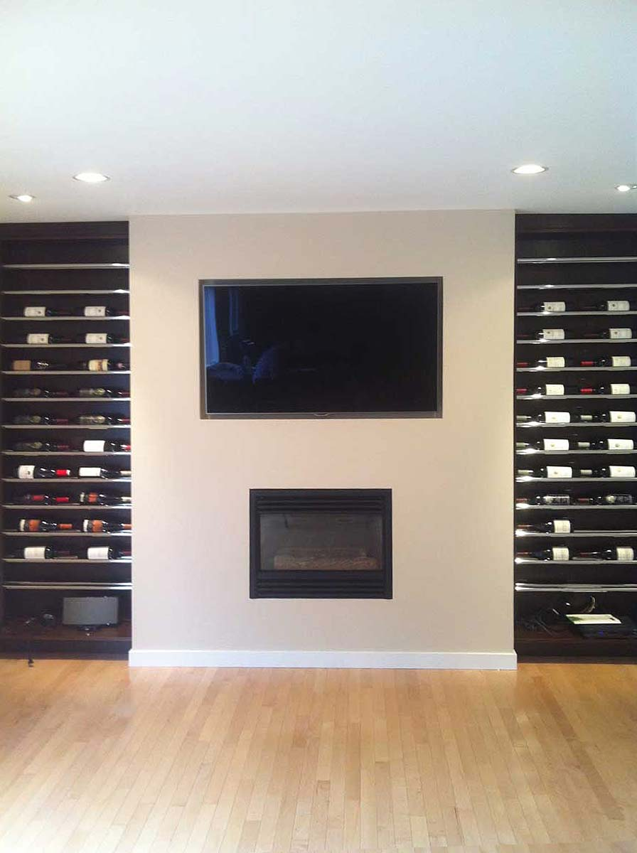 GP Woodwork LTD. - Custom Millwork - Wine Racks