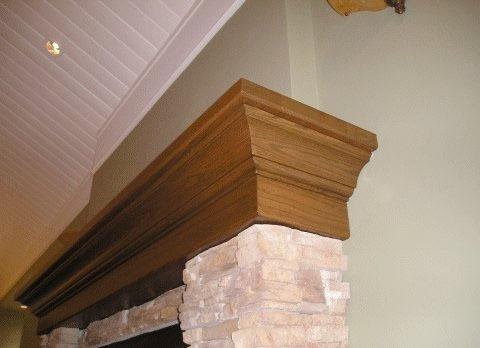 GP Woodwork LTD. - Custom Millwork - Mantels / Fireplaces
