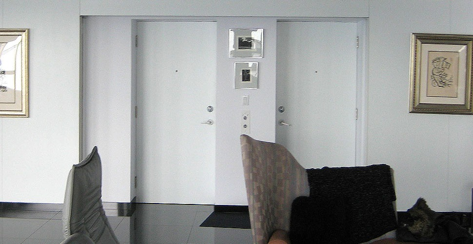 GP Woodwork LTD. - Custom Millwork - Self Actuating Doors